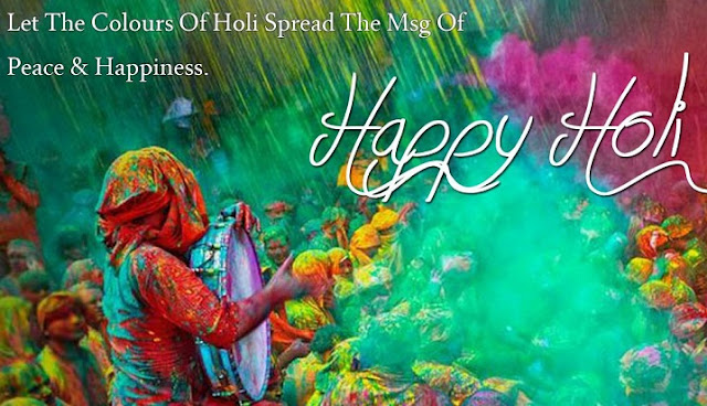 Best Happy Holi Beautful Quotes & Thoughts 2017~Picture Quotes Wishes