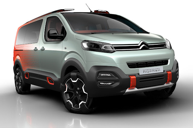 Spacetourer Hyphen Concept: Citroën turns up the volume
