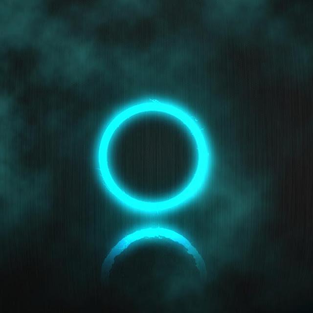 Blue Circle Wallpaper Engine