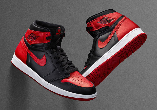 "0801ca6567c6 Air Jordan 1 ""Banned"" Releasing On Nike SNKRS Drawing On September 3rd"