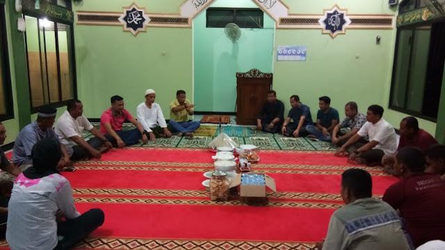 Dandim Cilacap Bersama Seluruh Peterjun Payung, Do'a Bersama