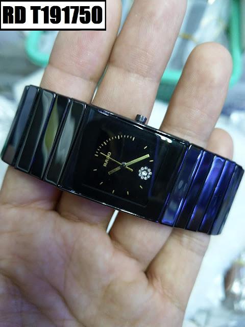 Đồng hồ nam mặt chữ nhật Rado RD T191750