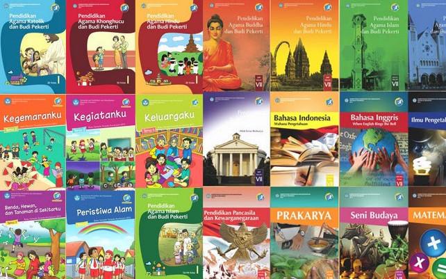 Buku Tematik Kelas 1 Revisi 2016 Format PDF Terbaru