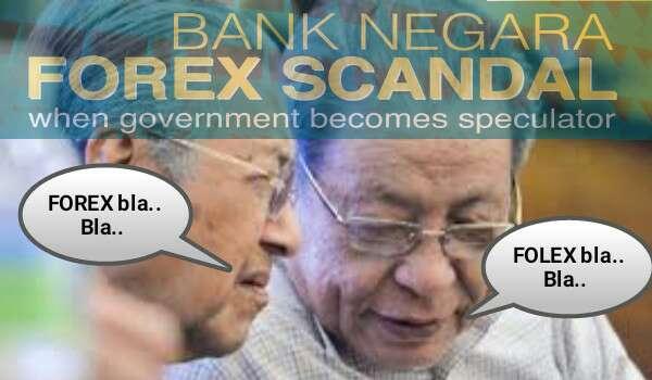 Siasatan Forex: Pertama Kalinya Mahathir Puji Kit Siang  Sebab Takut Dipenjarakan
