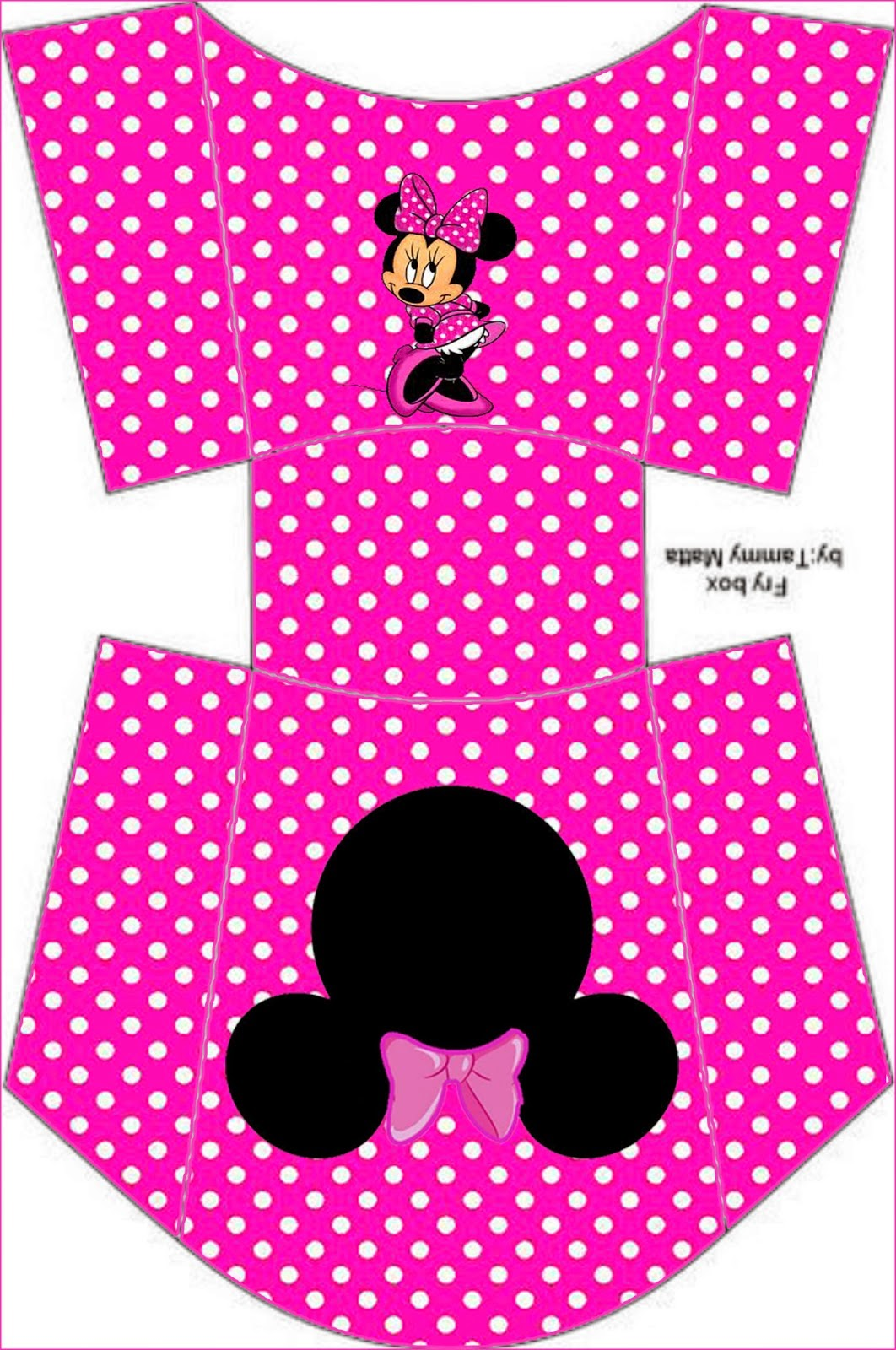 Coquette Pink Minnie Free Printable Boxes And Free Party