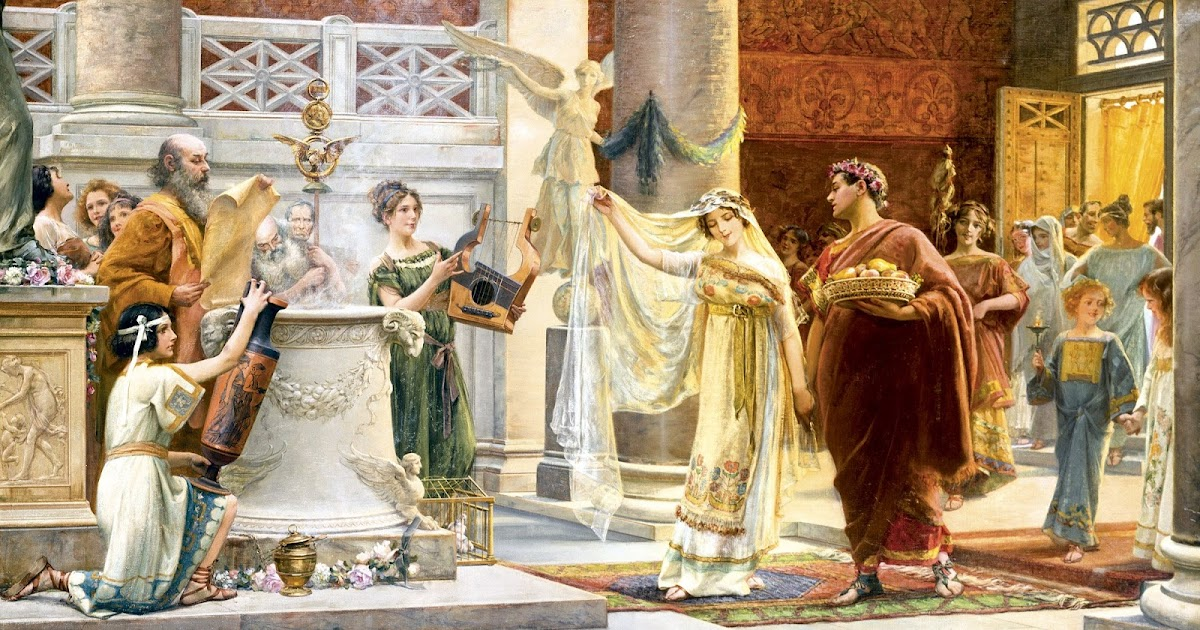 El Matrimonio Romano No Era : El matrimonio romano