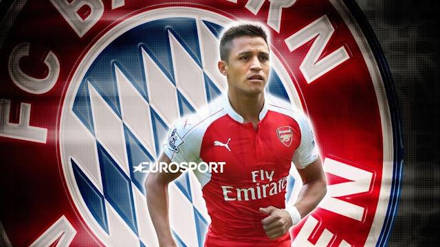 Bayern Munich Incar bintang Arsenal Alexis Sanchez