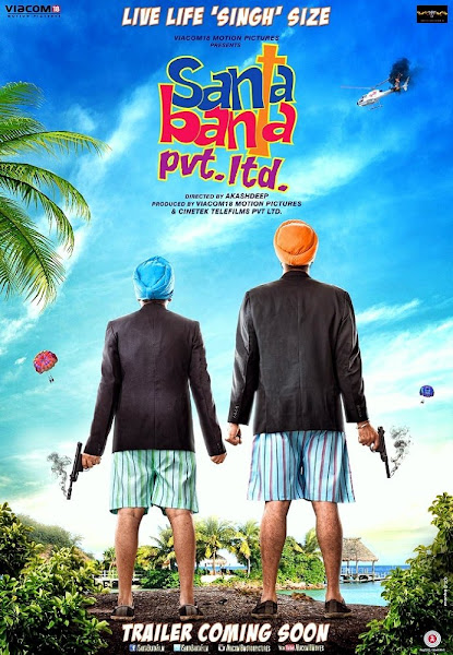 Poster of Santa Banta Pvt Ltd 2016 480p Hindi DVDRip Full Movie Download