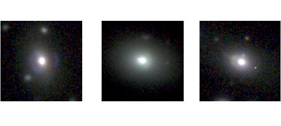 Những thấu kính hấp dẫn được trí tuệ nhân tạo tìm thấy trong thực tế. Hình ảnh: Enrico Petrillo/Rijksuniversiteit Groningen/Astronomie.nl.