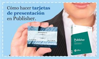 Como hacer tarjetas de presentación en publisher