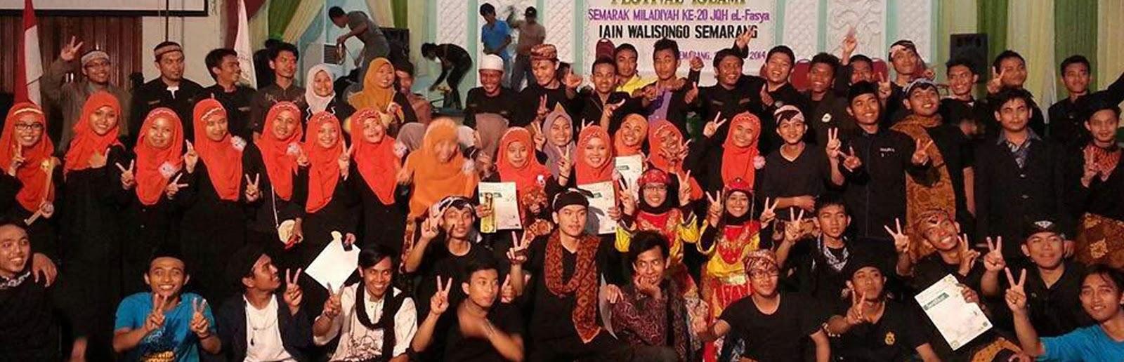 Anggota JQH setelah selesainya kegiatan Gebyar Festifal Islami 2014