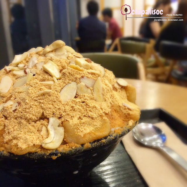 Injeolmi Bingsu from Hobing Korean Dessert Cafe