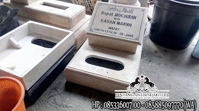Nisan Granit dan Marmer, Contoh Batu Nisan Dari Marmer, Nisan Kuburan Islam