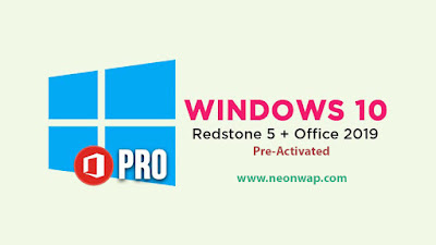 Windows-10-Pro-Redstone-5-with-office-2019