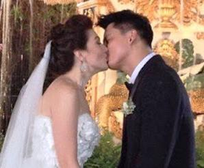 Marriage Of Carmina And Zoren Wedding Surprise Photo Kissed