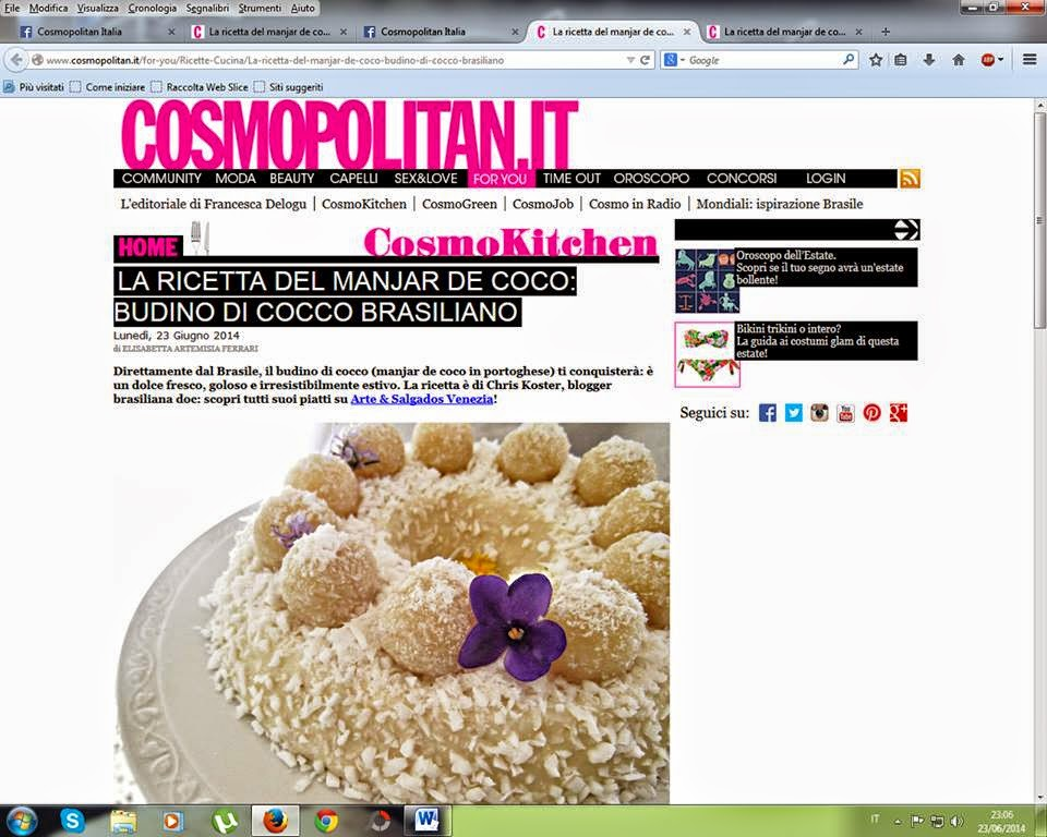 Cosmo kitchen