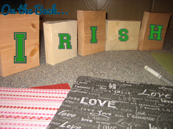 Irish Wood Blocks
