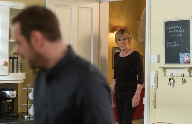 EastEnders Mick finds out the truth