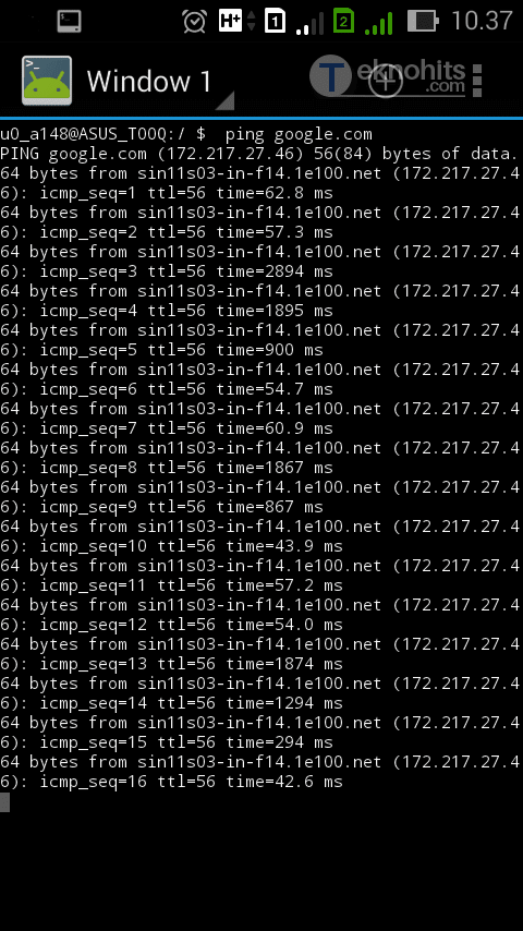 cara menggunakan terminal emulator pro