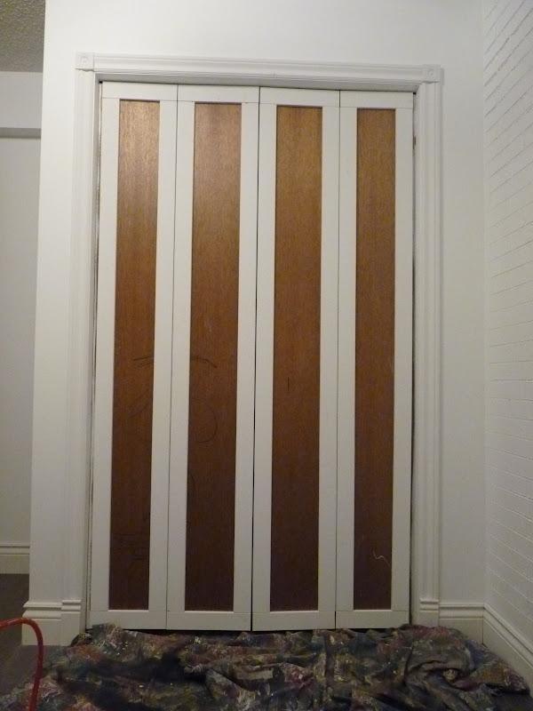 Top Diy Tutorials Bi Fold Closet Door Makeover