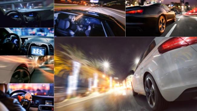 تحميل 7 صور لقيادة السيارة في الليل بجودة عالية