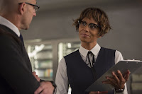Halle Berry and Mark Strong in Kingsman: The Golden Circle (6)