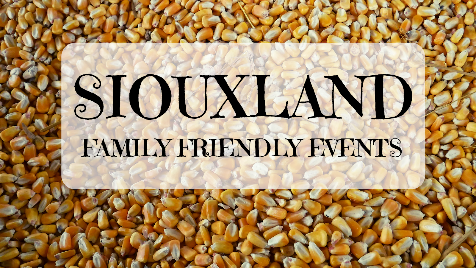 Join the Siouxland Family Friendly Events FB group!
