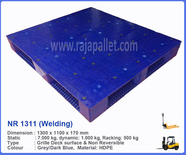 Pallet Plastik NR 1311 (Welding)