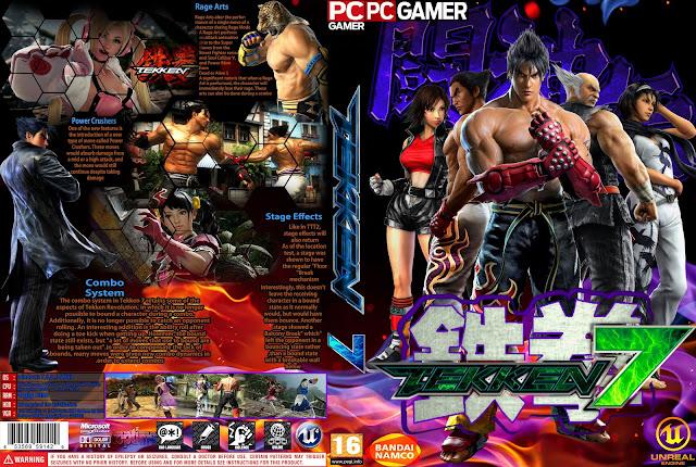 Capa Tekken 7 PC