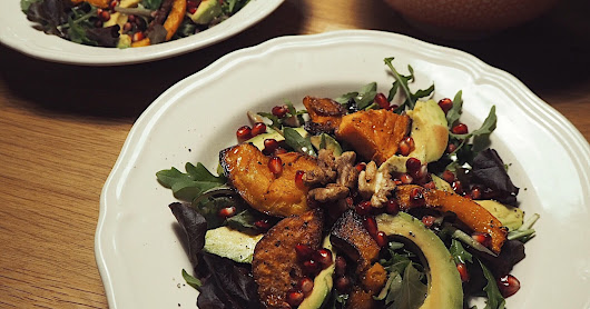 Autumn Spice: Squash & Avocado Salad