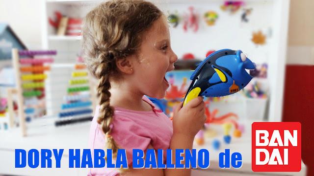 Buscando a Dory - Dory habla Balleno - Bandai