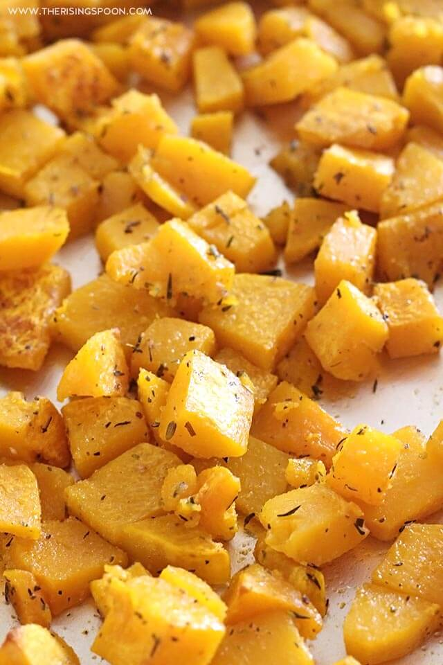 Savory Roasted Butternut Squash Recipe (Gluten-Free, Paleo, Vegan & Whole30)