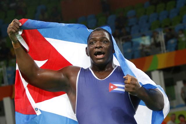Mijaín López tricampeón olímpico