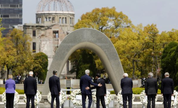 Obama untuk Kunjungi Hiroshima Kota Terkena Bom Atom