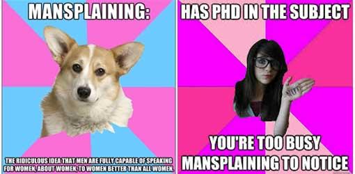 mansplaining feminismus einmaleins