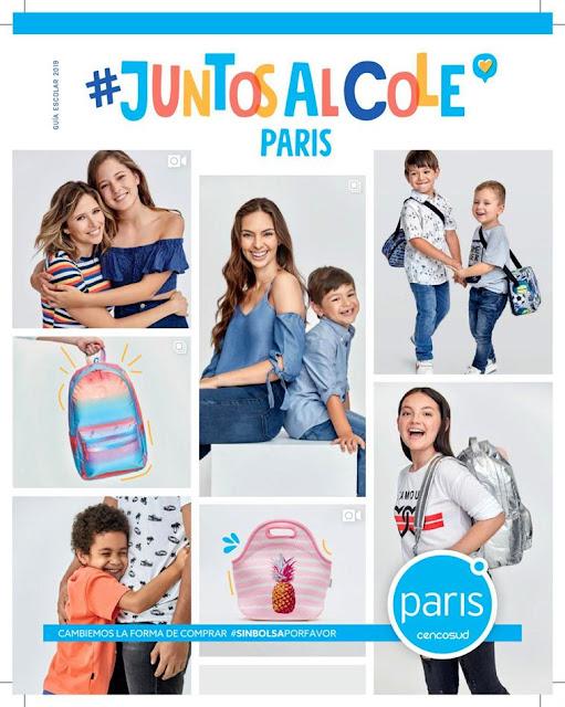 catalogo Paris Peru : Juntos al cole : marzo 2019