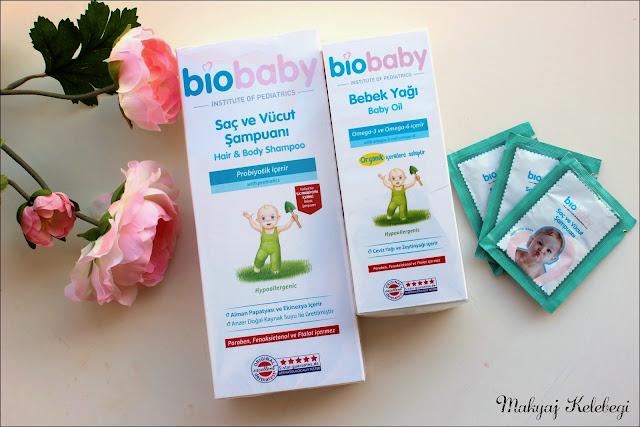 Bebeğim İçin Biobaby Bebek Şampuanı Kullanıyorum