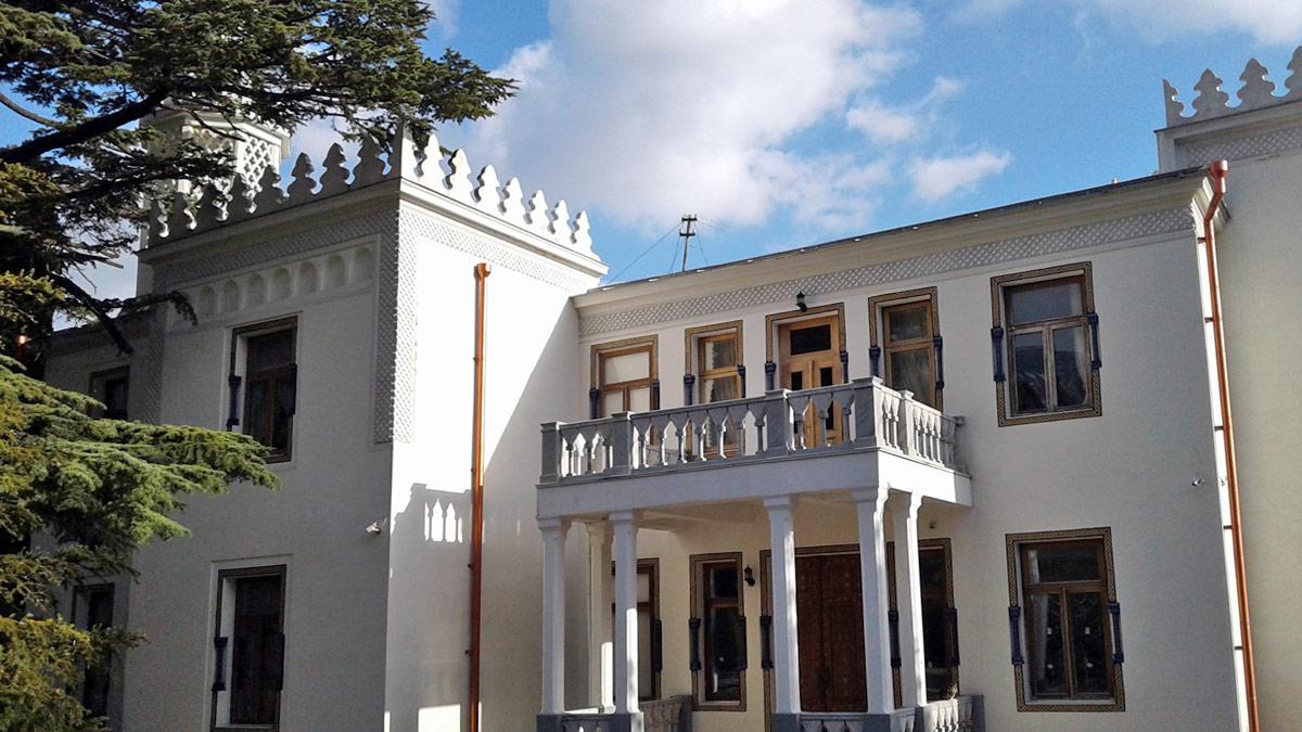 Дворец эмира Бухарского в Ялте