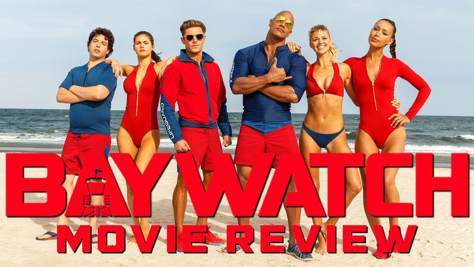 movie review BAYWATCH podcast
