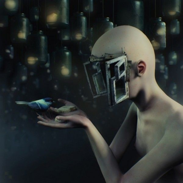 Arte digital surrealista 3D