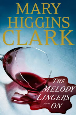 The Melody Lingers On by Mary Higgins Clark - book cover