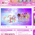 ¡Nueva decoración Butterflix en la web oficial Winx Grecia! - Butterflix design in official Winx Club website Greece!