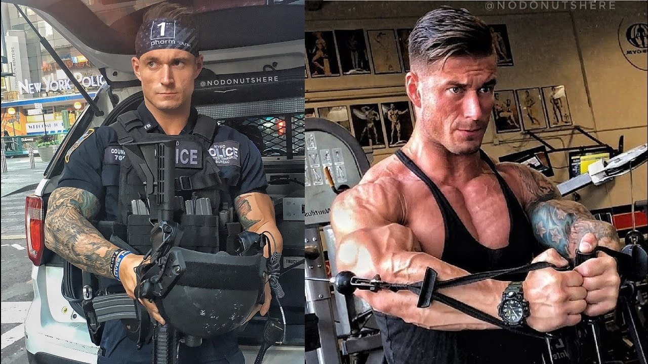 NYPD'S COP MICHAEL COUNIHAN WORKOUT ROUTINE | JACKED FOREVER