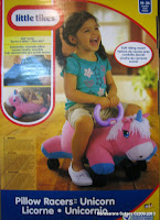 Ride-on Car Little Tike Pillow Racers Unicorn