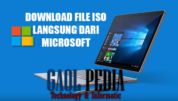 cara download file iso windows