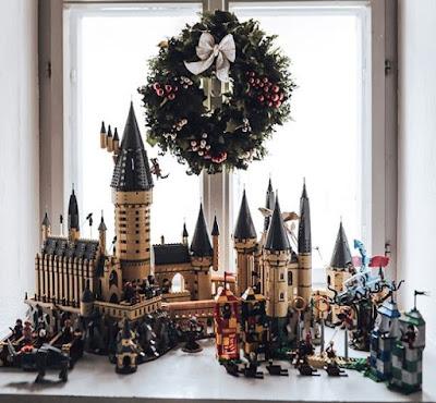 Замок Гарри Поттера из Лего
