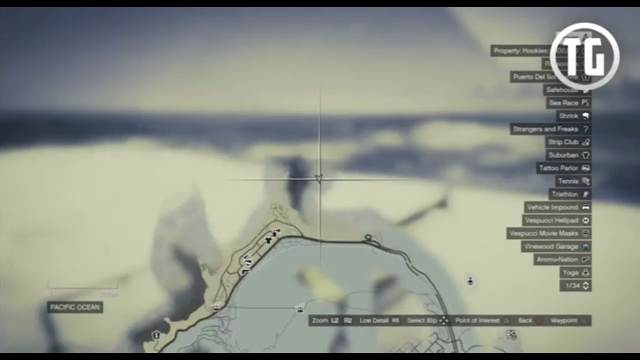 peta Bangkai UFO di Dasar Lautan