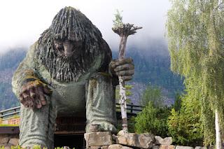Troll, Hunderfossen, Norway