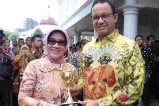 Prestasi Anies Terus Berlanjut, Terapkan Kesetaraan Gender, DKI Raih Anugerah Paharita Ekakarya 2018