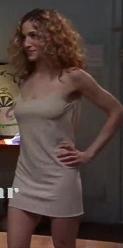 Carrie Bradshaw Naked Dress 104